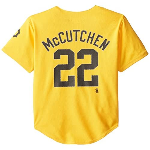 official photos 4e71b 5cf14 Andrew Mccutchen Pittsburgh Pirates #22 Yellow Youth Player ...