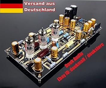 Nobsound EAR834 Hi-End nivel Phono HiFi Amp AA ECC83S valve tube Phono RIAA tocadiscos de amplificador aeropatín MM Phono-preamplificador ensamblado board ...