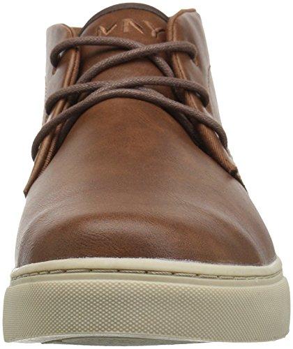 Marc New York Door Andrew Marc Mens Wythe Sneaker Chestnut / Brown / Bone