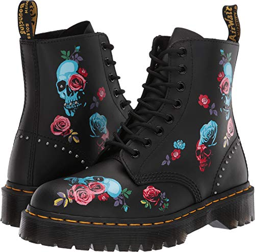 Dr. Martens Women's 1460 Pascal Rose Bex Black/Multi 6 M UK