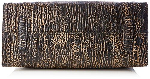 LAURA VITA Caracas-coralie06 - Borse Tote Donna, Schwarz (Noir), 13x24x40 cm (B x H T)