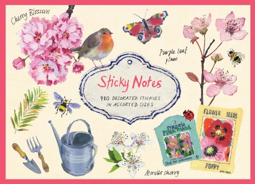 Cherry Blossom Garden Sticky Notes Cherry Blossom Gardens