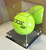 UV Protection Full Size Basketball/Soccer Ball Display Case Holder, ALL 4 sides visible (AC-BB05)