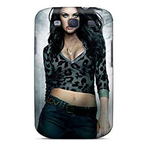 Shock-Absorbing Cell-phone Hard Cover For Samsung Galaxy S3 With Customized Beautiful Megan Fox In Jennifers Body Poster Image AaronBlanchette