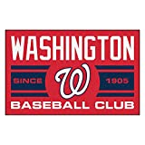 FANMATS 18488 Washington Nationals Baseball Club Starter Rug