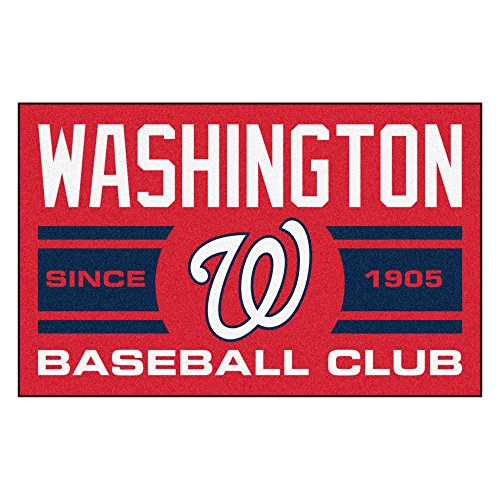 Washington Nationals Baseball Rug - 8