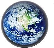 Waltz&F Crystal Sea Turtle Paperweight Galss Globe Hemisphere Home Office Table Decora