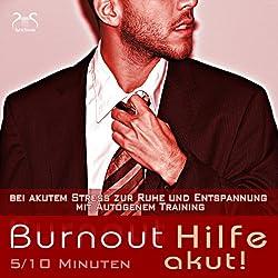 Burnout Hilfe akut