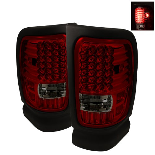 Spyder Auto ALT-ON-DRAM94-LED-RS Dodge RAM 1500/2500/3500 Red/Smoke LED Tail Light
