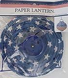 "PATRIOTIC LED LANTERNS 10"" Round, Stars & Stripes"
