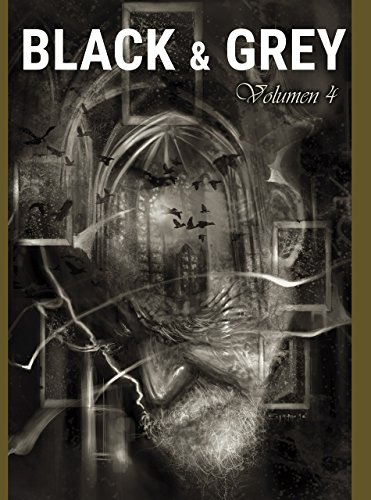 Black & Grey Volume 4: Tattoo Design Collection