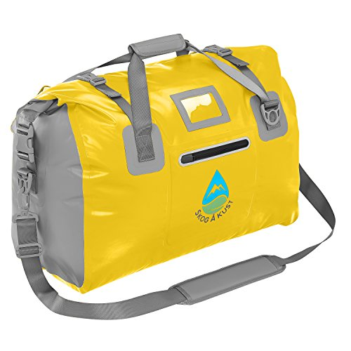 Såk Gear DuffelSak Waterproof Duffel Bag | 40L Yellow