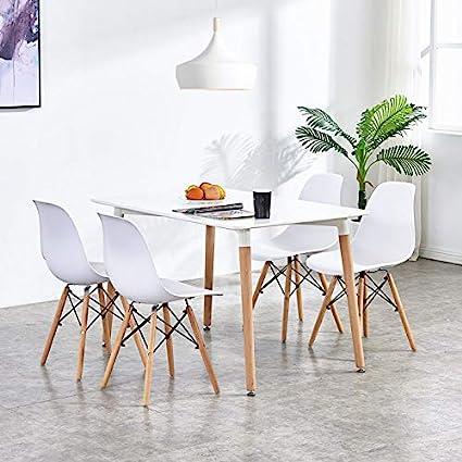 Amazoncom Homy Grigio Dining Chairs Dsw Chairs Mid Century Modern