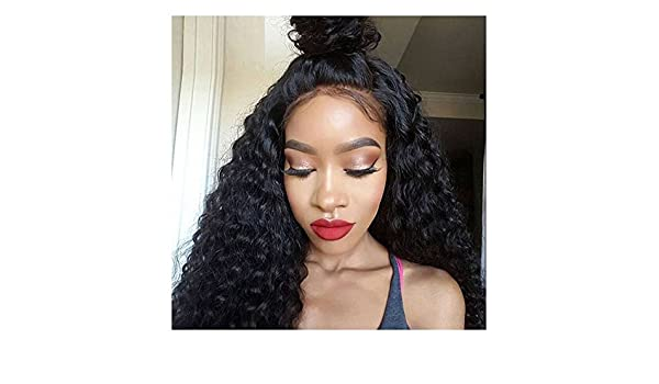 d0d994d92 ALI V 360 Full Lace Band Frontal Wig Pre Plucked Hairline Brazilian Virgin  Deep Wave 360 Lace Frontal Human Hair Wigs With Baby Hair Bleached Knots  Natural ...