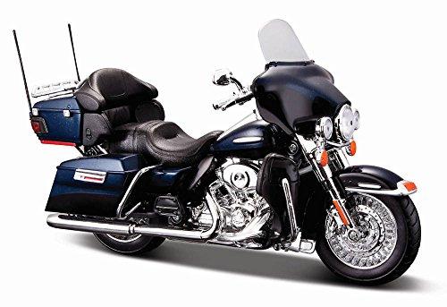 Diecast Davidson Harley Metal (Maisto 32329 2013 Harley Davidson FLHTK Electra Glide Limited 1/12 Motorcycle Model)