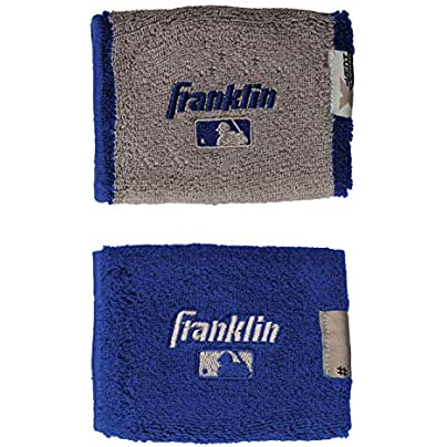 Franklin Sports MLB 4 0 quot X-Vent Pro Reversible Wristband Pair Estimated Price £6.28 -