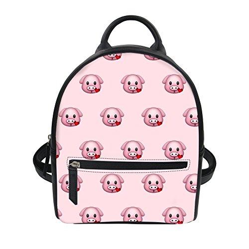 Emoji5 Emoji6 voor Damestas Backpack dames Advocator Packable oranje tvOqnn