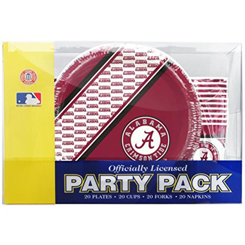 Alabama Crimson Tide Party Pack by Duck House