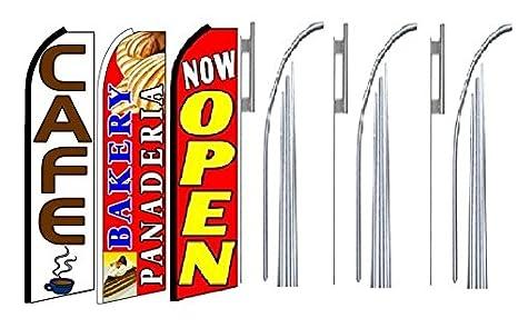 Amazon.com: Cafe Bakery Panaderia ahora abierta de King ...