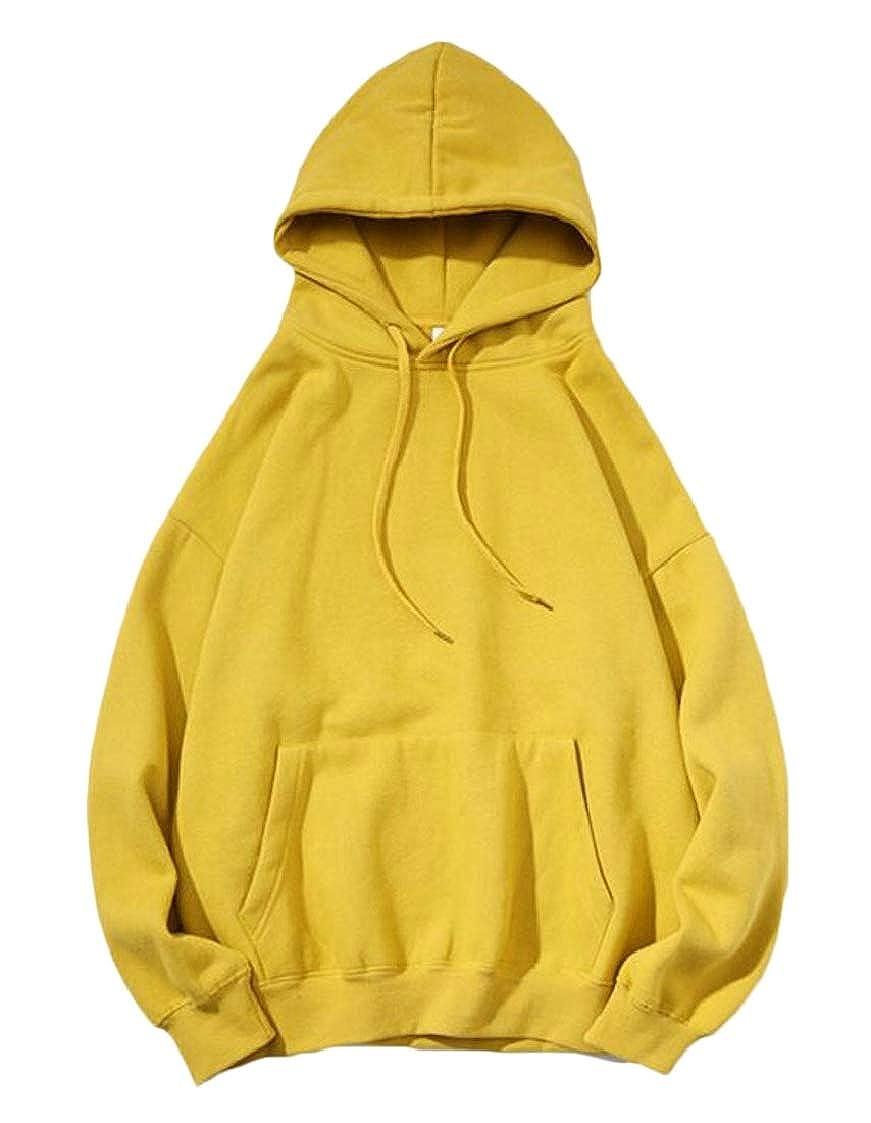 Lutratocro Mens Hooded Pullover Pocket Casual Sweatshirts Jacket