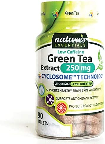 Liposomal Green Tea Extract 250mg per Pill 45 EGCG Maximum Absorption Formula 3 Month Supply Non-GMO Gluten-Free Vegetarian Lab Certified USA