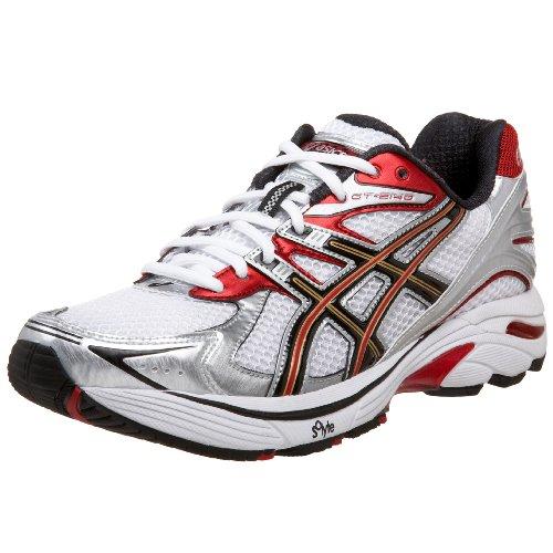 nowe obrazy fantastyczne oszczędności sprzedaż hurtowa ASICS Men's GT-2140 Running Shoe,White/Black/Flame,11 B US ...