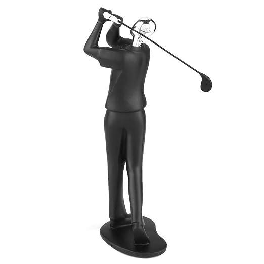 Artigianato moderno scultura astratta figura di sport statua modello atleta Art Carving Resin Figurine 01