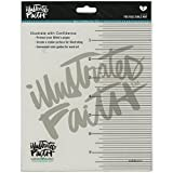 Bella Blvd Illustrated Faith You Rule Journaling Bible Mat, 7-Inch by 8-Inch