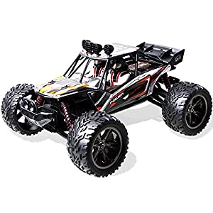 Rc Cars,COSAY For Remote Control Car,1/12 Scale,2.4Ghz 2WD High Speed off-road Vehicles With 2 Batterys, Give the Child the Best Gift