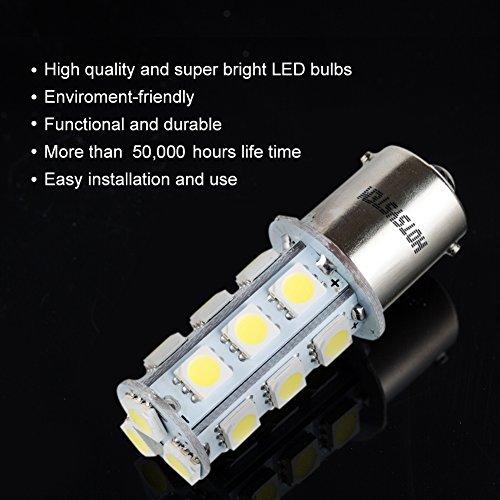 HOTSYSTEM-12V-1156-7506-1003-1141-LED-SMD-18-LED-Bulbs-Interior-RV-Camper-White-10-pack