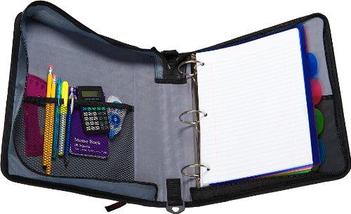 Case It 2 Inch Ring Zipper Binder Purple D 251 Pur Buy