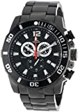 Swiss Precimax Men's SP13252 Crew Pro Black Dial with Black Stainless Steel Band Watch, Watch Central