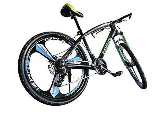 Helliot Bikes by Bangkok Crazy Creativity Bicicleta de Montaña, Adultos Unisex, Verde/Azul, Talla Única: Amazon.es: Deportes y aire libre