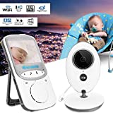Dtemple Baby Video Monitor with Wireless Digital Camera Night View – Two Way Talk