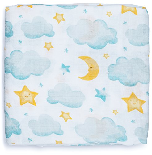 Large Muslin Swaddle Blankets Unisex