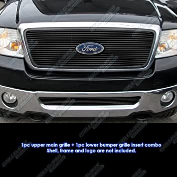 Fits 2004-2008 Ford F-150 Honeycomb Style Stainless Steel Billet Grille Insert