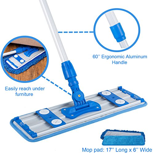 Professional Wet Mops Microfiber For Hardwood Laminate