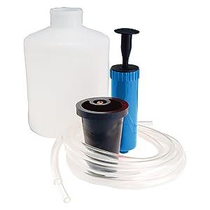 Silverline 104610 - Bomba extractora de Aceite y líquidos 1,5 litros (1,5 litros)