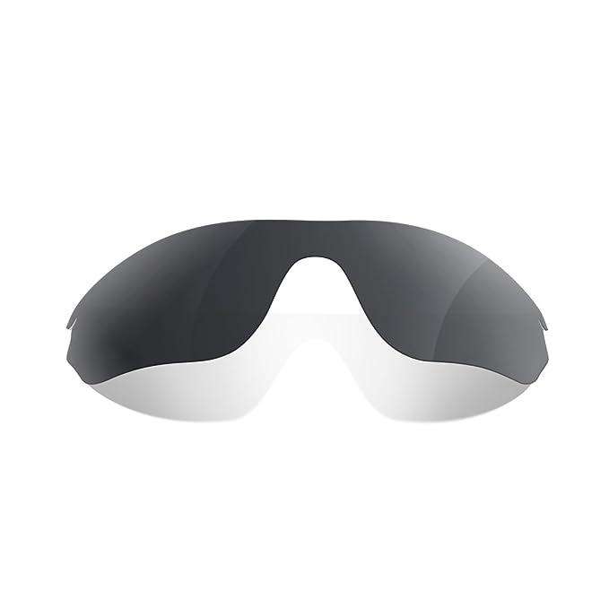 Sunglasses Restorer Lentes Para Oakley Radarlock Edge (Cristales Polarizados Black Iridium)