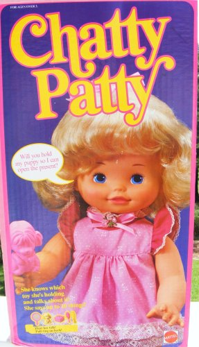 Vintage Chatty Patty doll Mattel