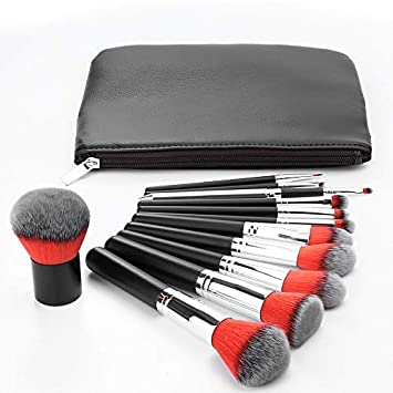 cbe9643f7f83 Amazon.com: Best Quality - Eye Shadow Applicator - 12pcs/set + Bag ...