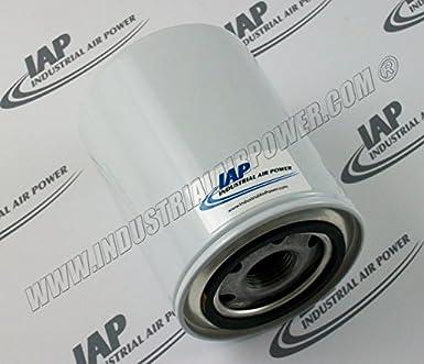39446489 Filtro de aceite elemento diseñado para uso con Ingersoll Rand compresores: Amazon.es: Amazon.es