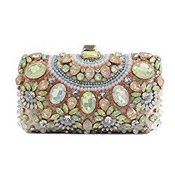 Women's Crystal Diamante Sparkly Evening Purse