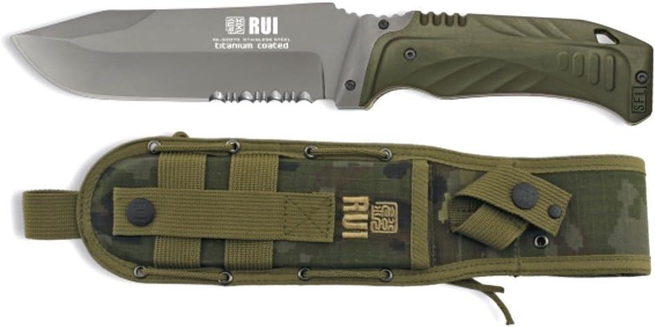 Martinez Albainox Navaja 77cm rie/ßiges Taschenmesser mit Holz-St/änder f Pr/äsentation
