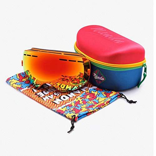 Gafas Protección niebla Esquí Goggles gafas Y Con Uv400 Tratamiento Anti Snowboard ski Unisex De Nieve Gg F xpwHEBRT