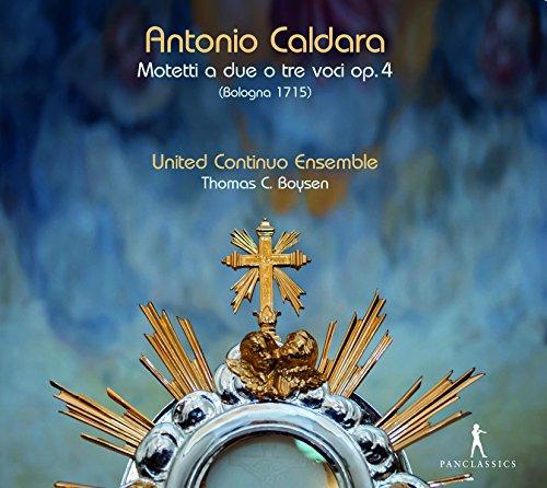 Antonio Caldara: Motetti a due o tre voci Op. 4