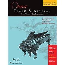 Piano Sonatinas - Book Three: Developing Artist Original Keyboard Classics