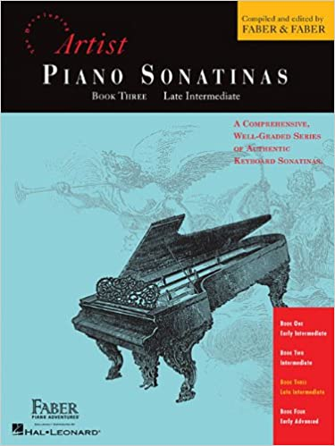 piano sonatinas book three developing artist original keyboard classics the developing artist