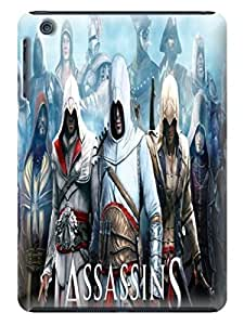 Steven L.Cummings Resistant slim clear back case with tpu phone cover for ipad mini(Assassin's Creed)