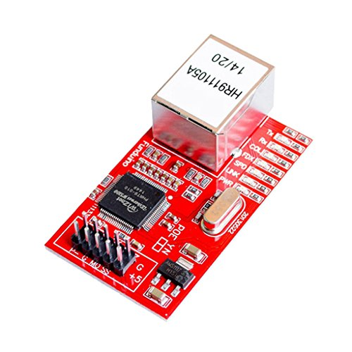 Network System Board - MagiDeal W5100 Ethernet Shield Expansion Board Network Module For Arduino Red
